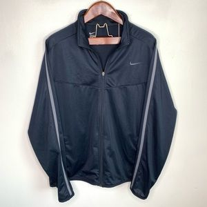 Nike Long Sleeve Zip Up Lightweight Track Jacket